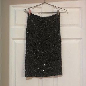 Alice and Olivia sequin skirt size 2